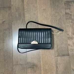 Brand new black purse